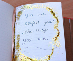 glitter, quote, and text image