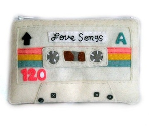 felt, tape, and cassette image