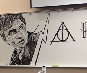 dibujo, potter, and harry image