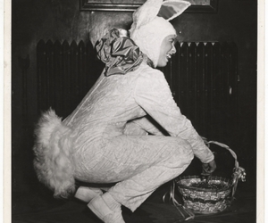 basket, easter, and black and white image