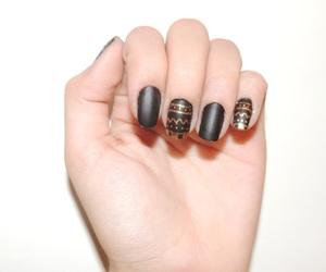 fashion, nails, and tribal image