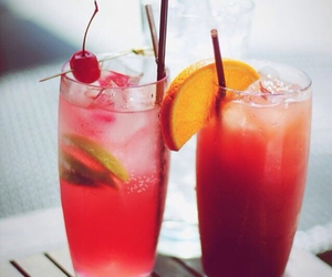 drink, summer, and cocktail image