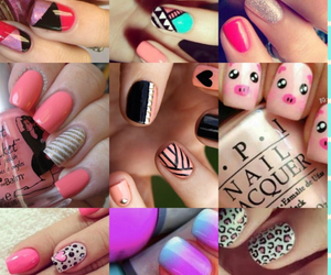 colors, fingers, and stripes image