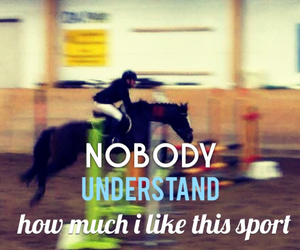equestrian, rider, and quote image