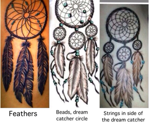 feathers, girly, and ribs image