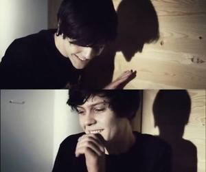 suicide room, dominik, and smile image