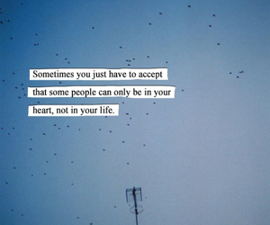 heart, life, and quote image