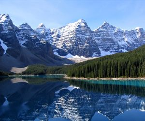 mountains, canada, and nature image