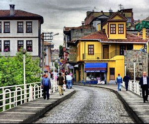 house, trabzon, and street image