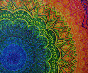 mandala, colors, and art image