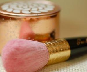 pink, Brushes, and make up image