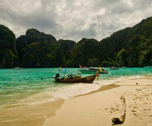 beach, landscape, and maya image