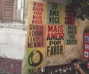 more love, cartaz, and mais amor image