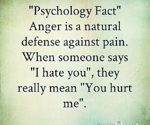 anger, hurt, and pain image