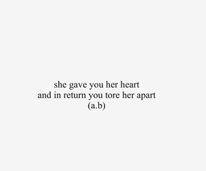 apart, that's, and her image