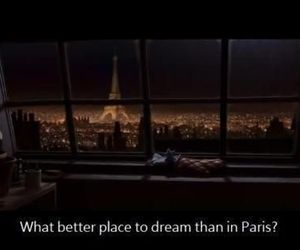 paris, Dream, and quote image