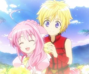 anime, ears, and couple image