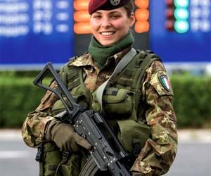 women soldier image