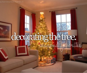 christmas, decorating, and Dream image