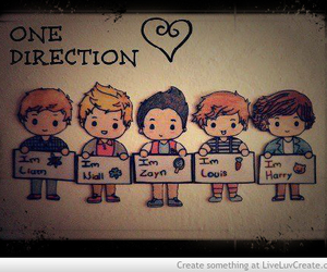 direction, zayn, and louis image
