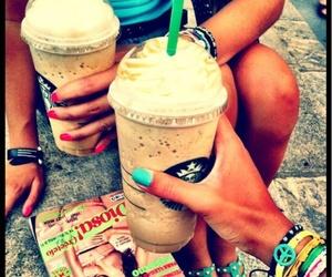 summer, starbucks, and coffee image