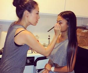 girls and makeup image