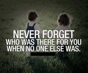 quote, forget, and never image