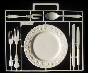 cutlery and plate image
