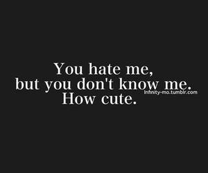 cute, hate, and how cute image