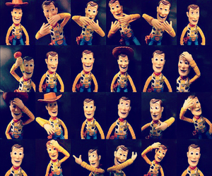 disney, woody, and heart image