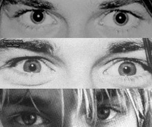 eyes, kurt cobain, and nirvana image