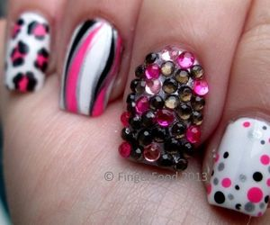 design, girl, and nail art image