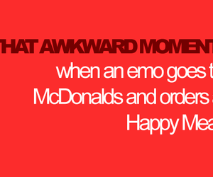 emo and happy meal image