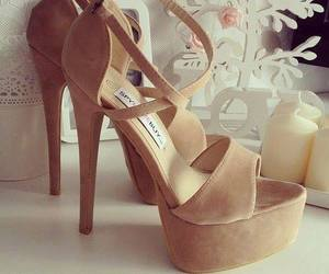 celine, fashion, and beige shoes image