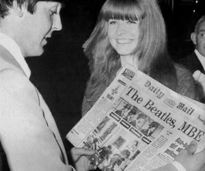 Paul McCartney, the beatles, and jane asher image