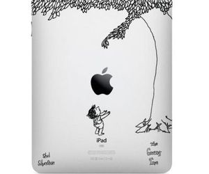 ipad, apple, and The Giving Tree image