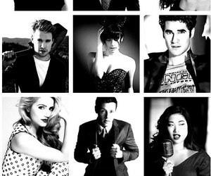 glee, lea michele, and darren criss image