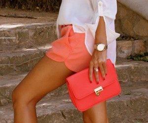 fashion, shorts, and tres chic image
