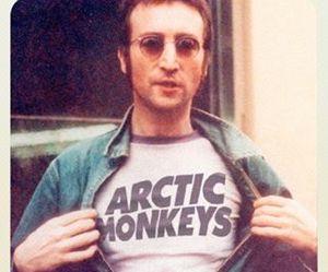arctic monkeys, john lennon, and indie image