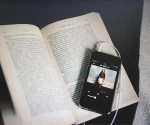 book, music, and birdy image