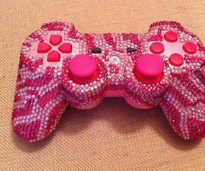 pink, game, and playstation image