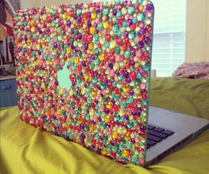 laptop and girly image