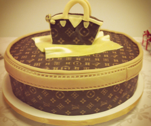 birthday, cake, and LV image