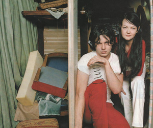 the white stripes, jack white, and meg white image