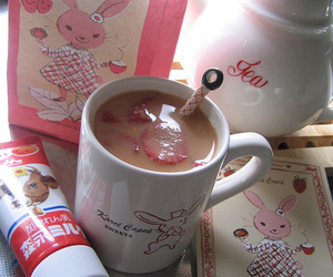 kawaii, tea, and cute image