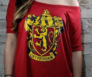 gryffindor, harry potter, and red image