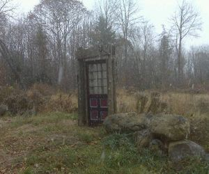 door, narnia, and vintage image