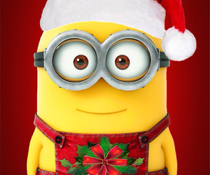 minions and christmas image