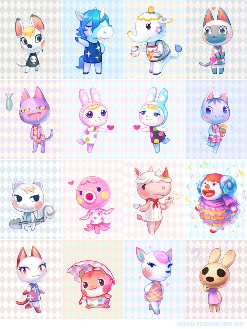 Animal Crossing Characters Uploaded By Anni