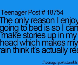 teenager post, story, and Dream image